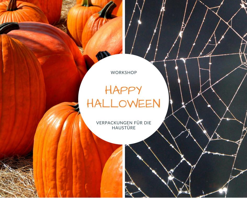 Workshop Halloween Verpackungen für die Haustüre mit Produkten von Stampin Up!
