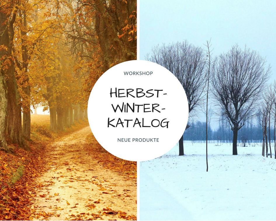 Workshop mit Produkten aus dem neuen Herbst-/Winterkatalog von Stampin Up!