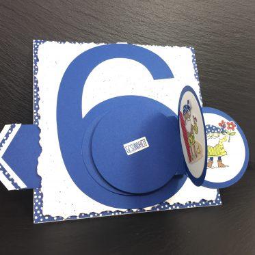 60ter Geburtstag mit Produkten von Stampin Up!