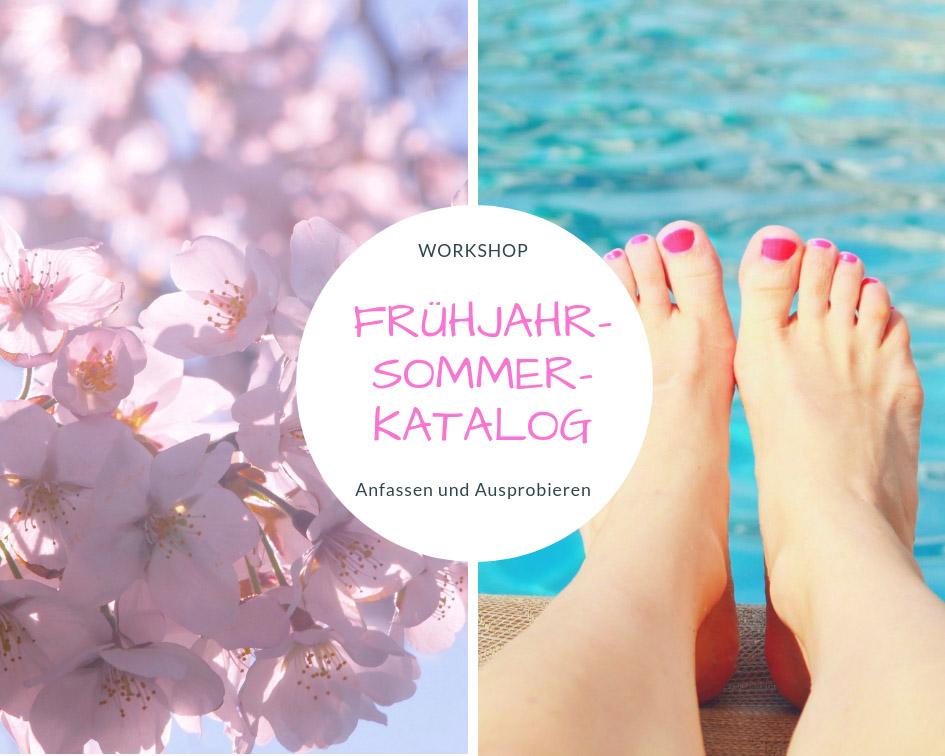 Workshop Frühjahr-/Sommerkatalog mit Produkten von Stampin Up!