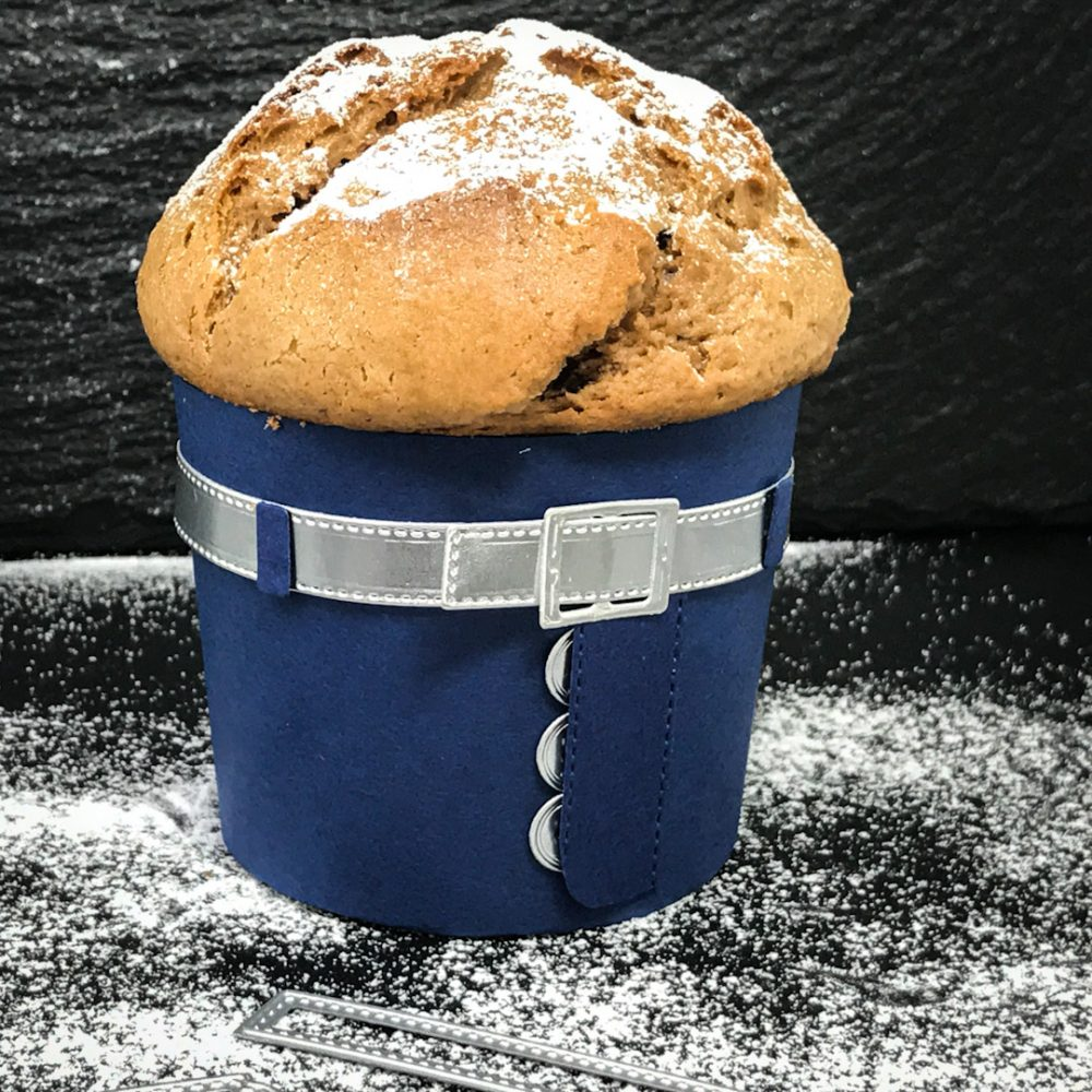 Jeans Muffin Verpackung So stilvoll |